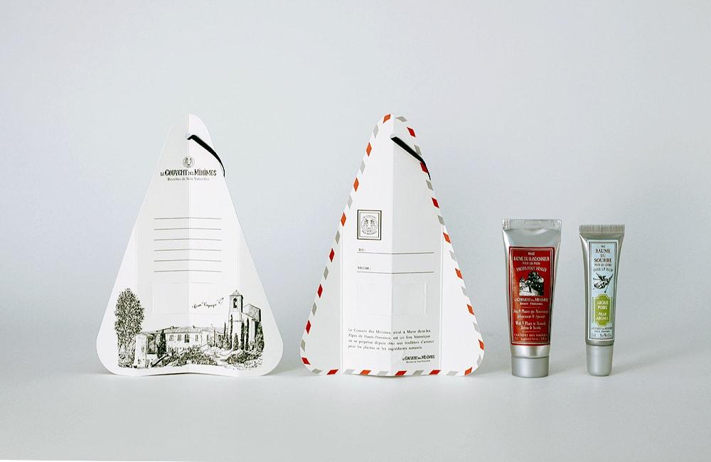 クボンデミニムのパッケージデザイン