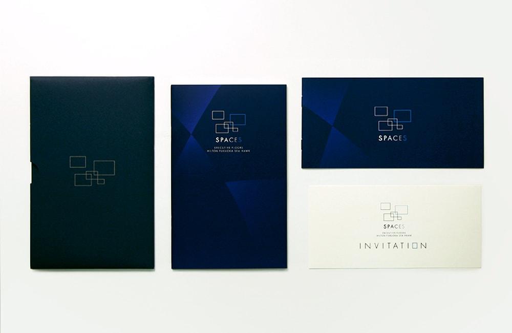 ヒルトン福岡のブローシャーデザイン